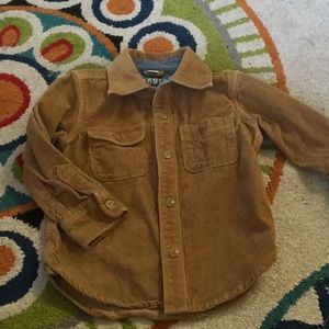 BABY GAP CORDUROY Button DOWN  3 YEARS LIKE NEW